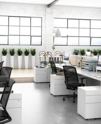 Charakterystyka metalowych mebli biurowych